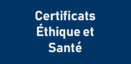 Certificats d'université