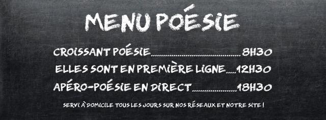 menu poesie